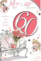 60th Birthday Card For Mum. Mum On Your 60th Birthday With Love.
