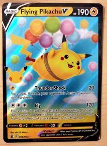 Pokemon 25th Anniversary Celebrations 'Flying Pikachu V' HOLO - NM - 006/025