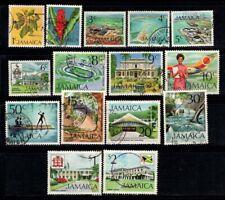Giamaica 1972 Mi. 345-354,358-362 Usato 100% fiori, cultura, paesaggi, Indipend
