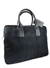 CALVIN KLEIN NEW Black Laptop Briefcase Duffle Bag w/ dustbag unisex RRP£140