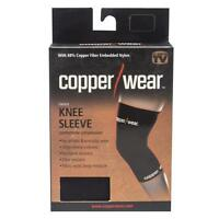 Copper Wear Knee Sleeve, Copper Embedded Nylon, AS SEEN ON TV,   Sports