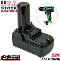 NEW For Hitachi 12V Battery BCL1015 BCL1015S BCL1030 Lithium-ion 12 Volt Drills