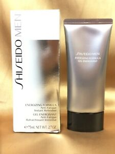 Shiseido Men Energizing Formula Anti-Fatigue Instant Refresher 75m.l/2.7oz Boxed
