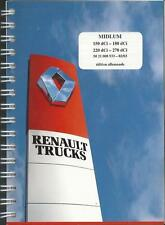 CAMION RENAULT TRUCKS Midlum manuale di istruzioni 2003 MANUALE MANUALE BA