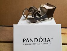 Pandora Unforgettable Moments 2010 Jeweled Sleigh Ornament - 3Rd In Series