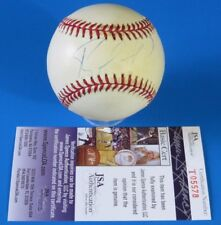 RAFAEL FURCAL SIGNED ROM BASEBALL  AUTOGRAPH BALL ~ JSA T05578 ~ Light Signature