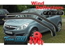 Wind deflectors Vauxhall Corsa D 2006 - 2011  5.doors  2.pc set HEKO 25362
