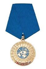 RUSSIAN MEDAL ORDER - 40 YEARS OF PARTICIPATION IN UN PEACEKEEPING OPERATIONS