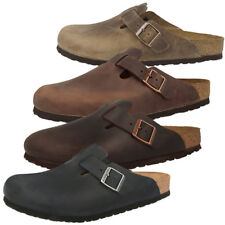 Birkenstock Boston Nubukleder Clogs Schuhe Pantoletten Sandalen Clog Hausschuhe