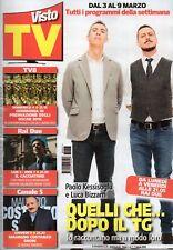 Visto Tv 2018 7.Luca Bizzarri & Paolo Kessisoglu