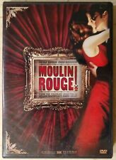 Moulin Rouge (Dvd, 2002, Widescreen) Nicole Kidman, Ewan McGregor