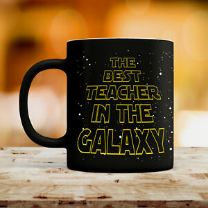 Best Teacher Tasse Star Thank You Cadeau École Wars 284ml Céramique Café Thé