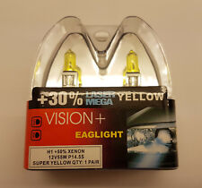 H1 55 W jaune lampe halogène +50% Xénon 30% Laser Mega