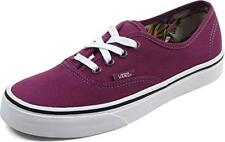 Vans Unisex Authentic Skate Shoe (6.0 B(M) US Women's, (Cuban Floral) Dark Purpl