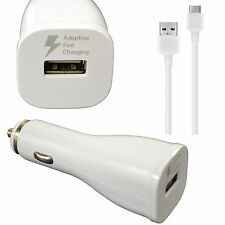 For LG G5 G6 V20 USB-C OEM Samsung Quick Fast Charge Car Charger W Cable