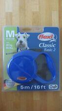 Flexi Classic Basic 2 Style Retractable Dog Cord Leash  5m -20kg Medium