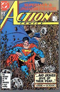 Action Comics 585   Superman & Phantom Stranger / John Byrne cover/art   DC 1987