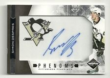2011-12 Rookie Anthology LIMITED Phenoms Patch Auto #260  SIMON DESPRES  #33/299