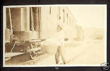 RUSSIA VLADIVOSTOK 1917 USA REAL PH. TRAIN PETERSBURG