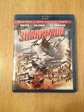 SIGNED x12 Sharknado Blu-Ray DVD Tara Reid Ian Zeiring John Heard +9 +PICS