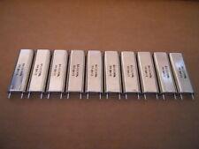 Xtal 64010 Khz Lot Of 10 Crystal Oscillators New Rare Vintage Ham Military