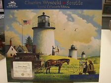 CHARLES WYSOCKI 2011 SEASIDE CALENDAR 12 ART PRINTS DREAMERS LIGHTHOUSES NEW