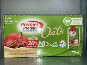 Premier Protein Smooth & Creamy Shake Apple Cinnamon With Oats 18 Pack
