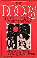 The Doors Concert Handbill 1969 Bg 186 Signed by Randy Tuten