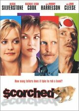 SCORCHED DVD | Region 1 | RARE Alicia Silverstone/Woody Harellson/John Clease