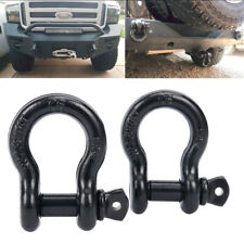 "2PC 3/4"" D-ring Shackle-Heavy Duty 4.5 Ton - for Jeep Off Road Truck Towing"