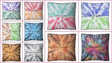 Indian Forest Tree Of Mandala Large Square Floor Pillow Meditation Cushion Cover