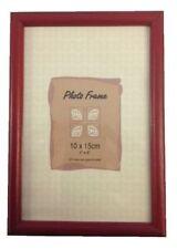 Cornici e portafoto in vetro rosso