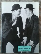 Laurel & Hardy Poster Book Roger Lightfoot RARE