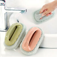 Bath Tile Brush kitchen Decontamination Tool Magic Pot Sponge Cleaning Brutb