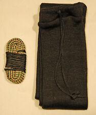 7.62X54R MOSIN NAGANT Bore brush swab mop rope snake cleaner gun sock case black