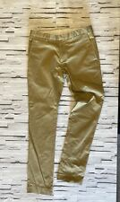 TOPMAN Beige Ultra Skinny Chino Style Trousers Size 30R Smart Casual