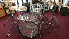 DW Design Serie Shellset - Acryl Clear / Drumset Schlagzeug Batterie Bateria