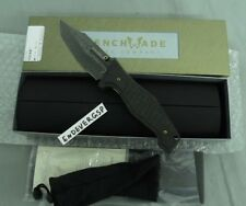 BENCHMADE KNIFE 757-151 VICAR FOLDER SERIAL #96 GOLD CLASS DAMASCUS NEW USA MADE