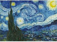 Jigsaw Puzzles 1000 Pieces – Starry Night by Vincent Van Gogh Mini