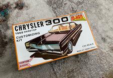 Jo-han Chrysler 300 1968 Hardtop Cistomizing Kit 1/25 Scale Car Model Kit