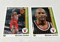 Michael Jordan 2009-10 Upper Deck 2 Card Lot UD Gold Legacy Bundle # 99 100