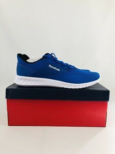 Reebok Sublite Legend Humble Blue/White/Black Running Shoes Men's Size 10
