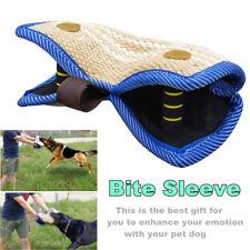 Large Jute Bite Sleeve Arm Protection Training Pitbull Police Dog Shepherd Tug