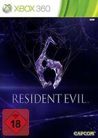 Microsoft Xbox 360 Spiel - Resident Evil 6 DEUTSCH mit OVP
