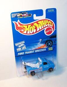 HOT WHEELS Mattel 1996 Mainline #620 FORD TRANSIT WRECKER - MOC