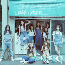 DIA-[Yolo] 2nd Album Random Version (Pink/Blue) CD+Photo Book+Photo Card