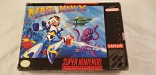 ♕* Super Nintendo * Mega Man X * RARE * NTSC version * SNES * Megaman X *