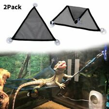 2 Pcs Reptile Hammock for Eeptile Anoles Bearded Dragons Geckos Iguanas