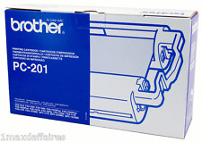 Original BROTHER PC-201 Ruban à transfert thermique NEUF Fax 1010 1020 1030