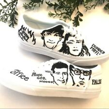 Vans The office painted Doheny shoes M 7 W 8.5